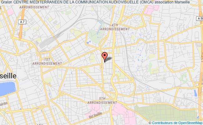 plan association Centre Mediterraneen De La Communication Audiovisuelle (cmca)