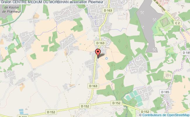 plan association Centre Medium Du Morbihan