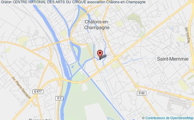 plan association Centre National Des Arts Du Cirque