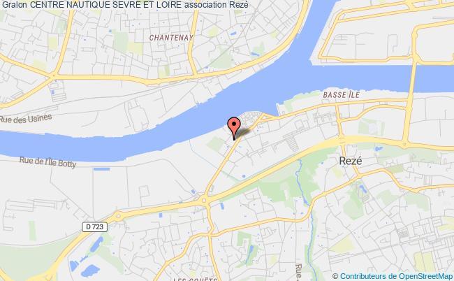 plan association Centre Nautique Sevre Et Loire