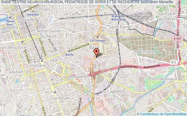 plan association Centre Neurochirurgical Pediatrique De Soins Et De Recherche