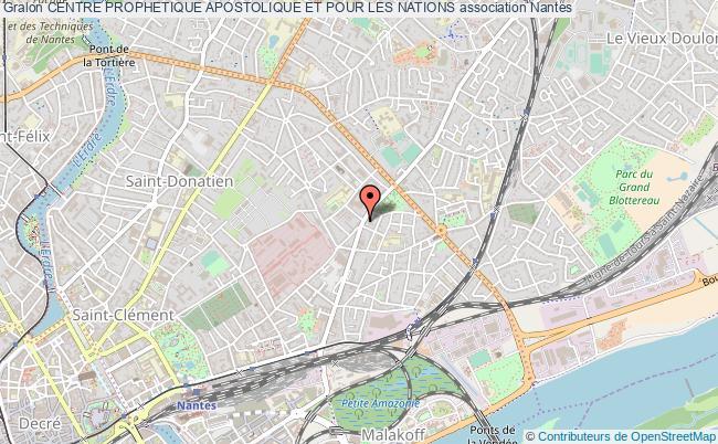 plan association Centre Prophetique Apostolique Et Pour Les Nations