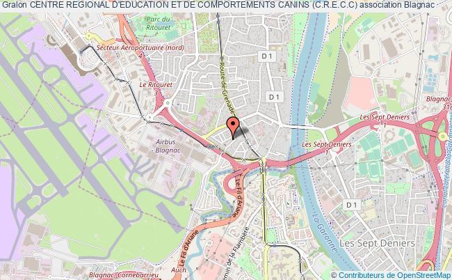 plan association Centre Regional D'education Et De Comportements Canins (c.r.e.c.c)