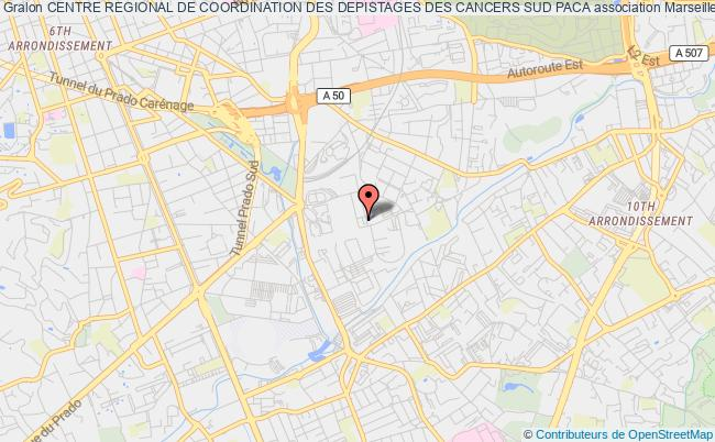 plan association Centre Regional De Coordination Des Depistages Des Cancers Sud Paca
