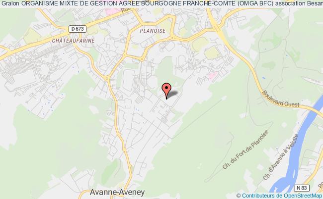 plan association Centre Regional De Gestion Agree De Franche-comte (c.r.g.a. F.c.)