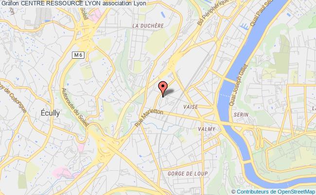 plan association Centre Ressource Lyon