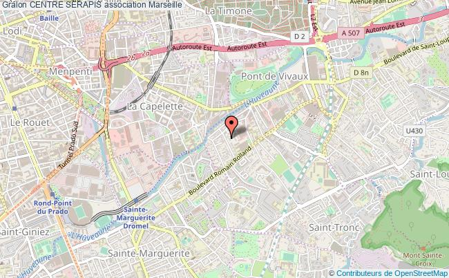 plan association Centre Serapis Marseille