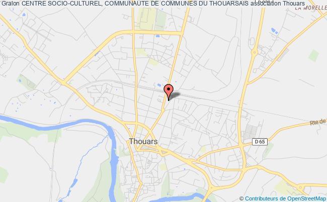 plan association Centre Socio-culturel, Communaute De Communes Du Thouarsais