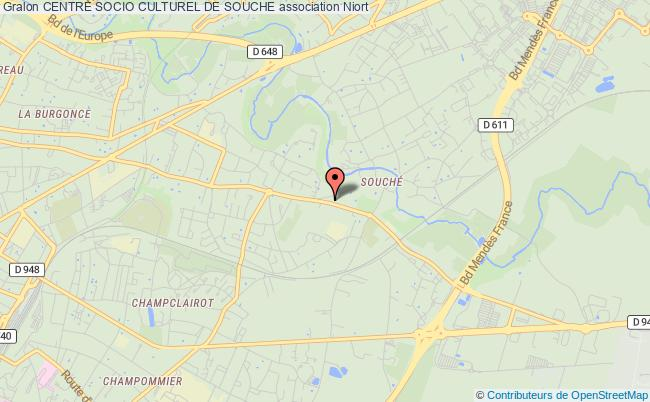plan association Centre Socio Culturel De Souche