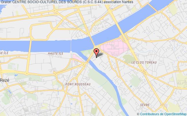 plan association Centre Socio-culturel Des Sourds (c.s.c.s.44)