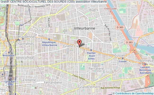 plan association Centre Socioculturel Des Sourds (css)