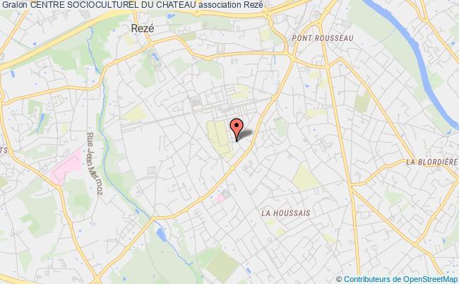 plan association Centre Socioculturel Du Chateau