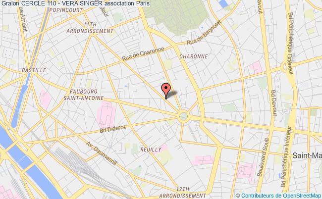 plan association Cercle 110 - Vera Singer Ozoir-la-Ferrière