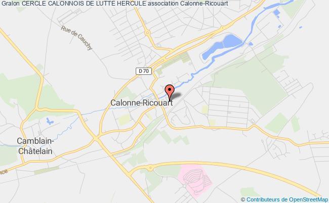plan association Cercle Calonnois De Lutte Hercule