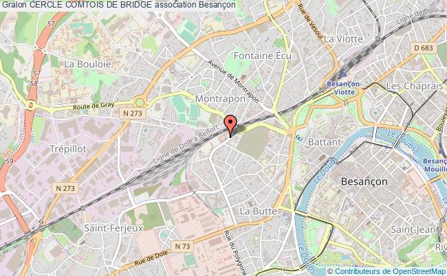plan association Cercle Comtois De Bridge