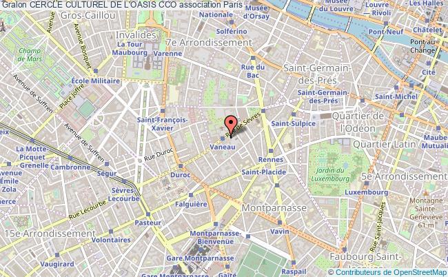 plan association Cercle Culturel De L'oasis Cco