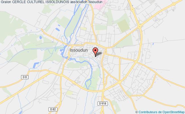 plan association Cercle Culturel Issoldunois Issoudun