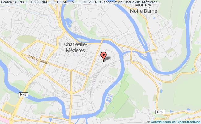 plan association Cercle D'escrime De Charleville-mezieres