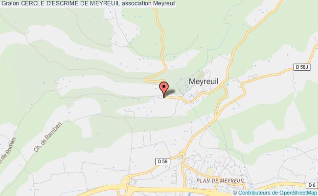 plan association Cercle D'escrime De Meyreuil