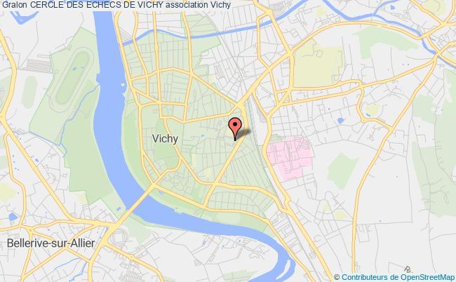 plan association Cercle Des Echecs De Vichy