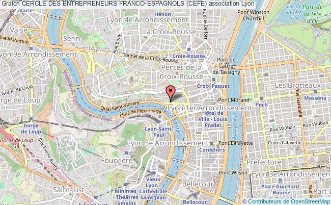 plan association Cercle Des Entrepreneurs Franco-espagnols (cefe)