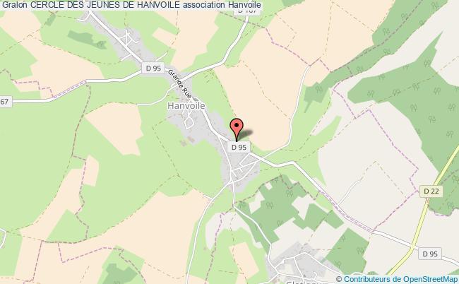 plan association Cercle Des Jeunes De Hanvoile Hanvoile