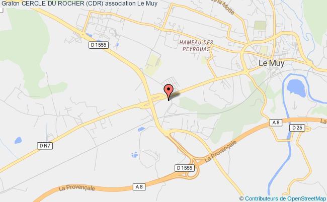 plan association Cercle Du Rocher (cdr) Le    Muy