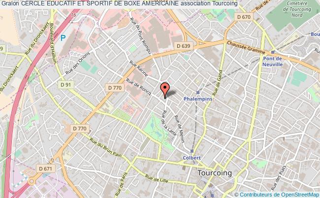 plan association Cercle Educatif Et Sportif De Boxe Americaine