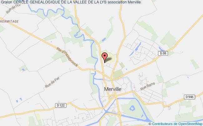 plan association Cercle Genealogique De La Vallee De La Lys
