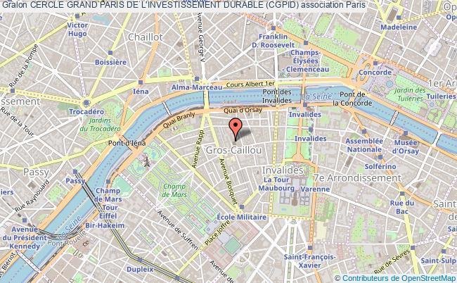 plan association Cercle Grand Paris De L'investissement Durable (cgpid)