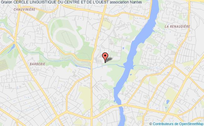 plan association Cercle Linguistique Du Centre Et De L'ouest