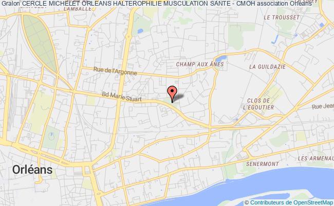 plan association Cercle Michelet Orleans Halterophilie Musculation Sante - Cmoh