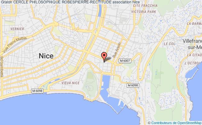plan association Cercle Philosophique Robespierre-rectitude Nice