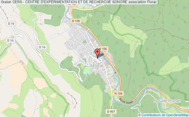 plan association Cers - Centre D'expÉrimentation Et De Recherche Sonore