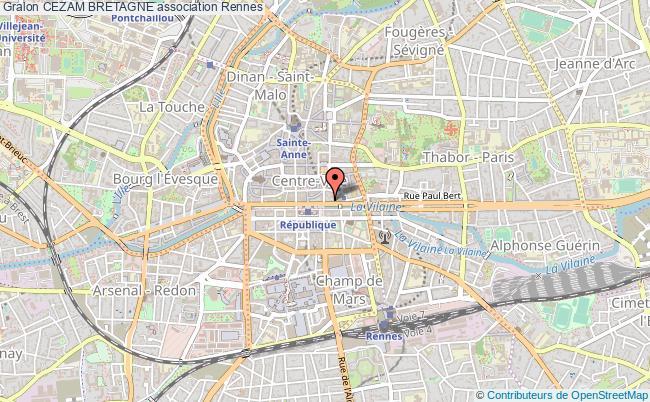 Carte Cezam Bretagne.Cezam Bretagne Association Audit Comites D Entreprises