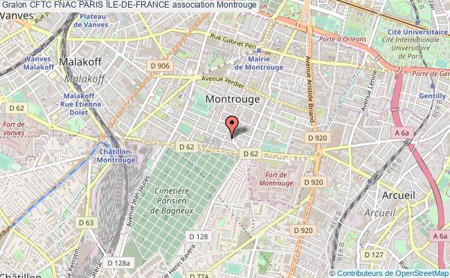 plan association Cftc Fnac Paris Île-de-france Montrouge