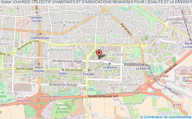 plan association (cha'red) Collectif D'habitants Et D'associations Rennaises Pour L'egalite Et La Diversite
