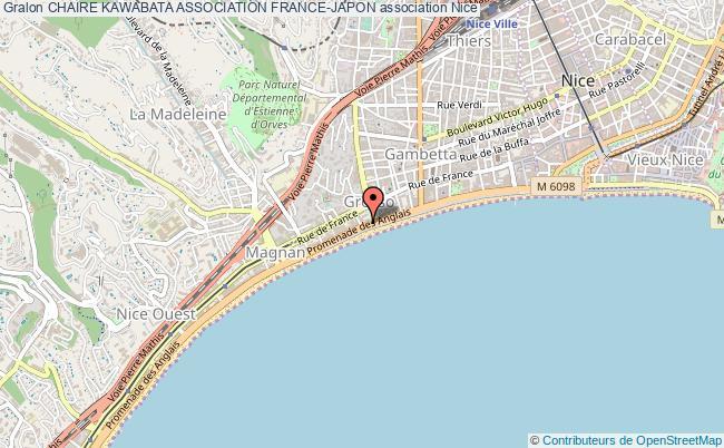 plan association Chaire Kawabata Association France-japon