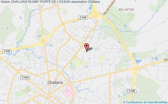 plan association Challans Rugby Porte De L'ocÉan