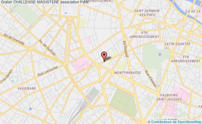 plan association Challenge Magistere Paris