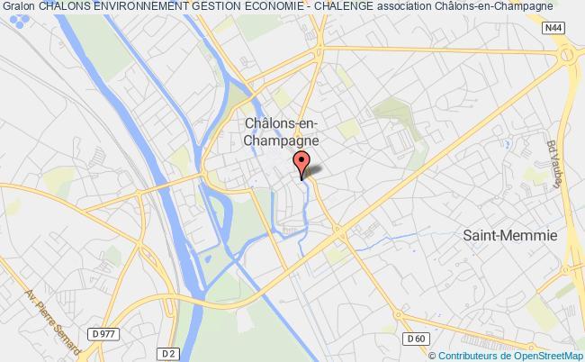 plan association Chalons Environnement Gestion Economie - Chalenge