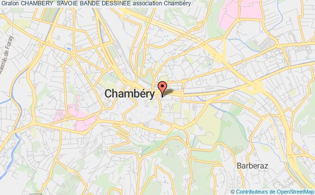 plan association Chambery  Savoie Bande Dessinee