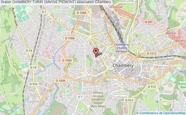 plan association Chambery Turin (savoie Piemont)