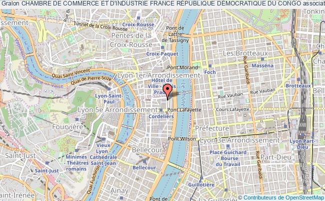 plan association Chambre De Commerce Et D'industrie France RÉpublique DÉmocratique Du Congo