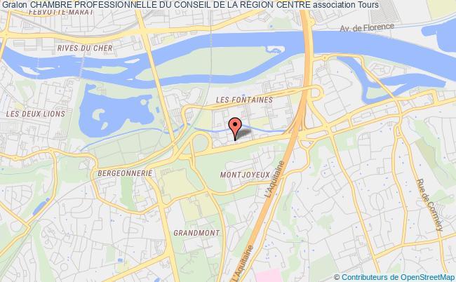 plan association Chambre Professionnelle Du Conseil De La RÉgion Centre