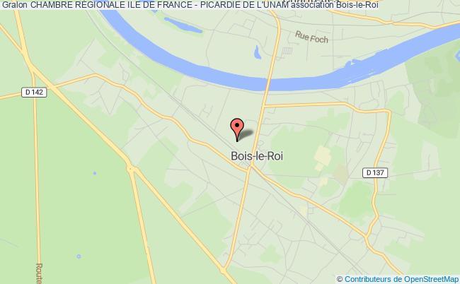 plan association Chambre RÉgionale Ile De France - Picardie De L'unam