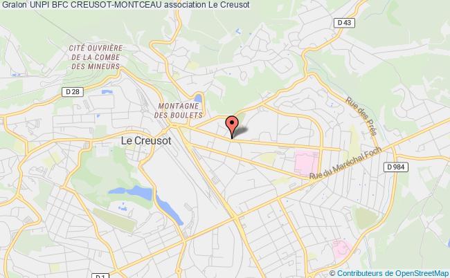 plan association Chambre Syndicale Des Proprietaires Immobiliers De La Communaute Urbaine Le Creusot-montceau