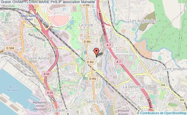 plan association Champflorin Marie Philip Marseille