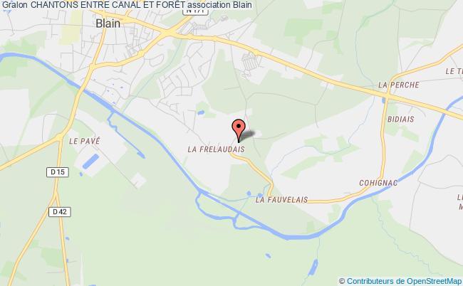 plan association Chantons Entre Canal Et ForÊt