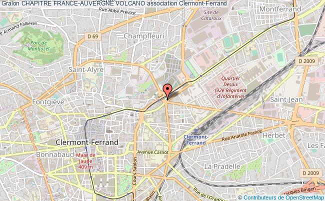 plan association Chapitre France-auvergne Volcano